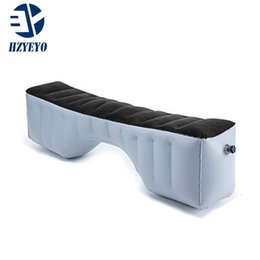 $enCountryForm.capitalKeyWord NZ - HZYEYO Inflatable Bed Mattress Camping Outdoor Back Seat Durable Auto Cushion for Car Travel Air bed 130*27*33 cm HZYEYO Inflatable Car