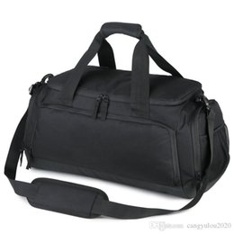 $enCountryForm.capitalKeyWord NZ - Top Selling Casual Fashion Women Travel Bag Men Basketball Bag Shoes Storage Bags Waterproof Nylon Outdoor Handbag Male Single Shoulder Bag