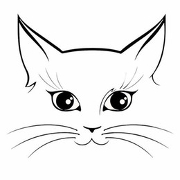 $enCountryForm.capitalKeyWord NZ - Wall Decal Removable Sticky Vinyl Lovely Pet Cat Face Car Stickers Creative Motorcycle Car Windows Decorative Accessories