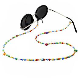 $enCountryForm.capitalKeyWord Australia - Fashion Women Eyeglass Chains Colorful Glass Beads Chains Anti-slip Eyewear Cord Holder Neck Strap Reading Glasses Rope