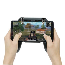 ipad controllers 2019 - MobileTablet Game Trigger Fire Aim Button L1R1 Shooter Controller For IOS Android IPad Game Gamepad PUBG Accesorios chea