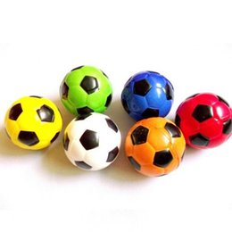 $enCountryForm.capitalKeyWord Australia - Colorful Hand Football Ball Soft Squeeze Stress Reliever Balls Kids Toys Gifts Squishy Squeeze party favors
