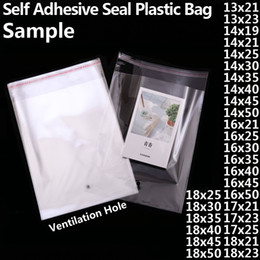 $enCountryForm.capitalKeyWord Australia - Transparent Self-adhesive OPP Poly Plastic Bags Clear Self Sealing Resealable Cello Cellophane Bag Small Toy Gift Packaging Bags