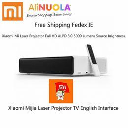"$enCountryForm.capitalKeyWord Australia - Xiaomi Mijia Laser Projector TV 150"" Inches 1080 Full HD 4K BT 4.0 Wifi 2.4 5GHz Support DOLBY DTS 3D Free Shipping Fedex IE"