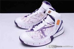 94ab301e7cba Top Quality carbon fiber 2018 Kobe Bryant Zoom Huarache 2K5 OG 310850 103  map of the Lakers Losangeles Basketball Shoes With Original Bo
