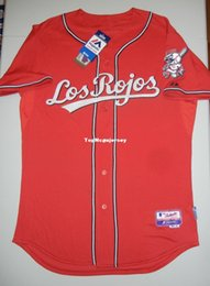506b9b745 Cheap Retro Top Majestic Cool Base Jersey Blank NWT red Los Rojos Votto Mens  Stitched Baseball jerseys