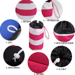beds direct 2019 - Storage Bag Children Toys Admission Canvas Cylindrical Type Pouch New Style Creative Many Colour Bucket Factory Direct S