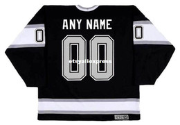 7ff38a7d custom Mens LOS ANGELES KINGS 1990's CCM Jerseys Vintage Away