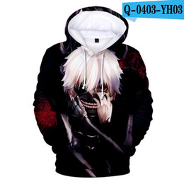 $enCountryForm.capitalKeyWord Australia - New Classic anime Tokyo Ghoul 3d Hoodies Autumn Fashion Hoody harajuku Hip Hop Men Women Clothes Sweatshirt