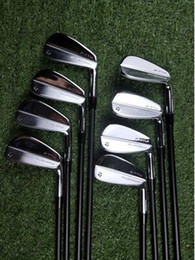 Iron club heads online shopping - Brand New P TW Iron Set P7 TW Golf Forged Irons P7TW Golf Clubs Pw R S Flex Steel Graphite Shaft With Head Cover