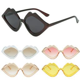 d47341d714 CANCHANGE Small Lips Shape Sunglasses Women Brand Designer 2019 New Sexy  Mouth Sun Glasses Female 5 Colors gafas de sol UV400