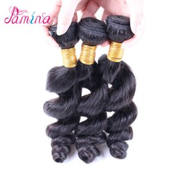 $enCountryForm.capitalKeyWord NZ - Pamina Hair 3 or 4 Bundles Brazilian Virgin Remy Human Hair Weave Bundles Cuticle Aligned Body Wave Loose Wave Straight Hair Extension