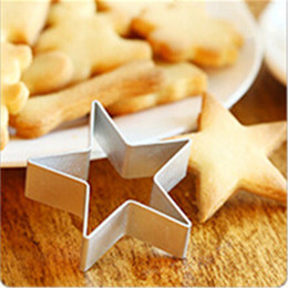 $enCountryForm.capitalKeyWord Australia - Exquisite Five-pointed Star Decorating Mold Metal Cookie Cutters DIY Baking Tools Fruit Fondant Biscuit Cake Mould