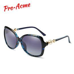 12d1ac543e0 wholesale Fashion Polarized Sunglasses Butterfly Pearl Mirror Sun Glasses  for Women Brand Designer Glasses Shades UV400 CC1036