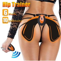 Hip Trainer With Remote Controller Buttocks Lifting Waist Body Beauty Machine Rechargeable Beauty Massage Relaxation Machine RRA902 on Sale