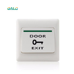 push exit Australia - Door Exit Button Release Push Switch for access control system Electronic Door Lock NO COM lock Sensor Switch access push