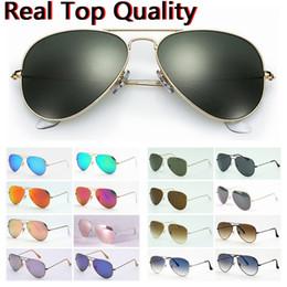 Lunettes Soleil Orange Australia - designer sunglasses top quality original pilot men women sun glasses des lunettes de soleil original leather cases, box, good for resell!