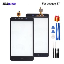 Free Touch Screen Phones Australia - For Leagoo Z7 Touch Screen Glass Panel Replacement For Leagoo Z7 Phone Parts With Free Tools