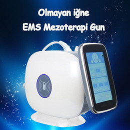 mesogun for mesotherapy 2019 - 2019 Best Selling EMS RF Mesogun Non-needle EMS Mesotherapy Gun Nano Needles Beuaty Gun Machine For Salon Use CE DHL dis