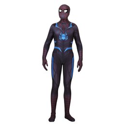 $enCountryForm.capitalKeyWord UK - Lycra Game Secert War Spiderman Zentai Cosplay Costumes for Man Woman Kids Superhero Bodysuit Costume Cosplay customized Size