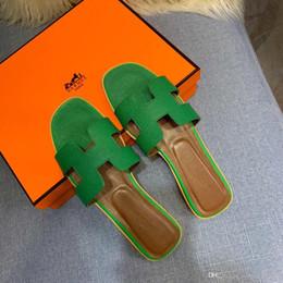 Discount shoes stone sandals - 2019 Fashion Leather Sandals for women 7 Color Flat Sandals Stones Studded Flip Sandal Size3 5-42 Women's for Shoes