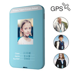 personal track 2019 - JINSERTA GPS Tracker Student ID Card SOS Help Two-way Conversation Real-Time Positioning For Elderly Children Personal T