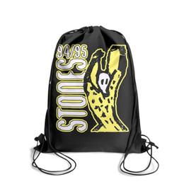 Venta al por mayor de Mochila deportiva con cordón Rolling Stones Voodoo Loungecool conveniente gimnasio Tire de la mochila