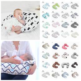 $enCountryForm.capitalKeyWord Australia - Baby print Nursing Pillows Maternity U Shaped Breastfeeding Pillow Cartoon Crown Bear Swan Elk Infant Cuddle Feeding Waist Cusion LJJA2273