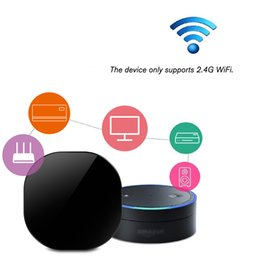 $enCountryForm.capitalKeyWord Australia - WiFi-IR Remote IR Control Hub Wi-Fi(2.4Ghz) Enabled Infrared Universal Remote Controller For Air Conditioner TV Voice Control