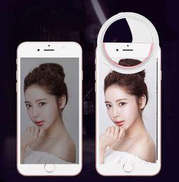 $enCountryForm.capitalKeyWord Australia - Mobile Phone Portable Clip Selfie Ring Beauty Fill Flash Lens Light Lamp for Photo Camera For Cell Phone Smartphone