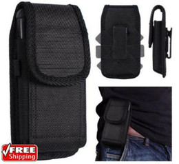 cell phone holsters Australia - 360 Universal Flip Holder Cell Phone Phone Belt Pouch Case Vertical Holster Clip