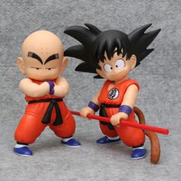 $enCountryForm.capitalKeyWord Australia - Dragon Ball Z Goku Kuririn Action Figure dragonball son gokou Krillin PVC Collection figures toys for christmas gift brinquedos Y190529