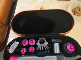 venda por atacado Nova Chegada de dis completos Styler Straightener Curler baixo cabelo calor ar novo envoltório 8 cabeças para UE / Reino Unido / EUA