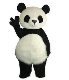 China Long Hair Panda Bear Mascot Costume Adult Mascot Men's for Party and Valentine's Day Thanksgiving Day Christmas supplier bored hair suppliers