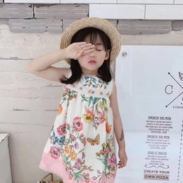 42bfcebd9a5eda Luxury kids princess dresses online shopping - 2019 new luxury baby girl  summer dress flowers kids