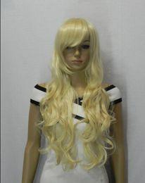 $enCountryForm.capitalKeyWord Australia - WIG shipping New Womens Medium Long Curly Hair Full Bangs Synthetic Cosplay Party Wig