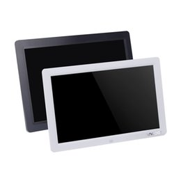 Chinese  12'' HD TFT-LCD 1280 * 800 Full-view Digital Photo Frame Alarm Clock MP3 MP4 Movie Player with Remote Desktop manufacturers