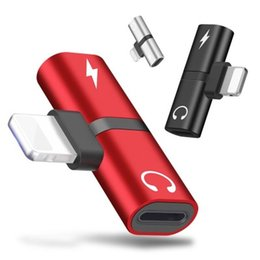 $enCountryForm.capitalKeyWord Australia - Applicable For Apple 7 8 X Earphone Charging Listening Song 2 In 1 Mobile Phone Audio for Lightning Adapter