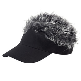 wig cotton NZ - New Sale Men'S And Women'S 56-60cm Golf Hats Outdoor Cotton Sports Wigs And Visors
