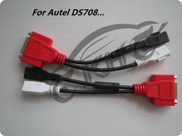 $enCountryForm.capitalKeyWord Canada - 100% Original for Autel Maxisys DS708 for AUDI -2+2 Adaptor Connector OBD OBDII