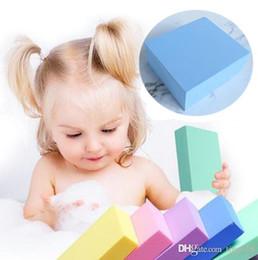 $enCountryForm.capitalKeyWord Australia - The new Baby bath artifact children rubbing rubbing cleaning sponge foam sponge bath sponge bath brush T4H0260