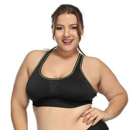 82cbd1054 Women s Full Figure Wirefree Bra Quick-Drying Beauty Back Plus Size Support  Underwire Bra Sports Yoga Fitness Bra