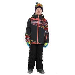 $enCountryForm.capitalKeyWord Australia - Dollplus 2019 Boys Ski Set Winter Outdoor Warm Waterproof Ski Jackets Pants Children Clothing Kids Sport Suits for Boys