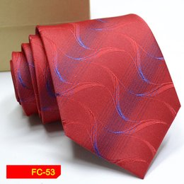 $enCountryForm.capitalKeyWord Australia - 2018 New Arrival New Design Brocade Fabric Festive Chinese Dragon Pattern Wedding Tie Groom fashion Tie Red Black Wine Pink Brown Tie 053
