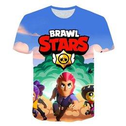 $enCountryForm.capitalKeyWord Australia - 2019 Hot BRAWL STARS t shirt Harajuku tshirt boys girls Clothes streetwear Short Sleeve Kids pops Tees 4 5 6 7 8 9 10 11 12 Year