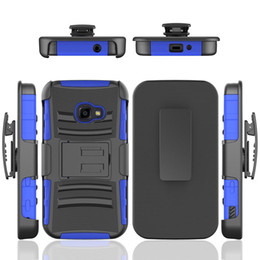 Star Belts Australia - TPU+PC Full Protective Belt Clip Defender Armor Case for Samsung Galaxy Xcover 4 J3 Achieve J7 Star 2018 J337 J737 Cover w  Kickstand