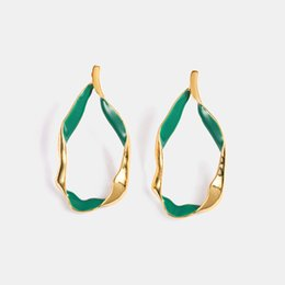 $enCountryForm.capitalKeyWord UK - Fashion Personal Geometry Epoxy Joker Stud Earring Charm Creative Eardrops Jewelry Wedding Party Factory Direct Sale American European