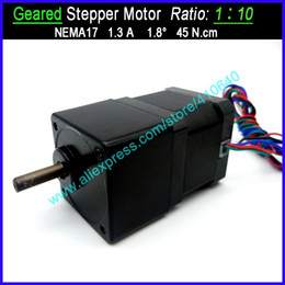 $enCountryForm.capitalKeyWord Australia - 1:10 Ratio NEMA 17 Geared Stepper Motor Speed Reducing Stepper with FACTORY BOTTOM Price OTHER Ratio Available For Supplying