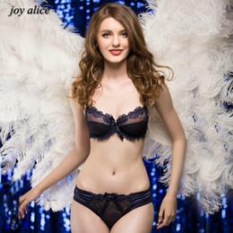 088b775e8d1 Fashion embroidery bras underwear women set plus size lingerie sexy C D cup  Ultrathin transparent bra women panties lace bra set