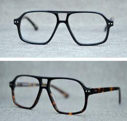 Prescription Glasses Frames Brands Australia - Brand Men Big Eyeglasses Frames Myopia Optical Glasses Sunglasses Frames Women BJORN Lemtosh Spectacle Frame for Prescription Glass with Box